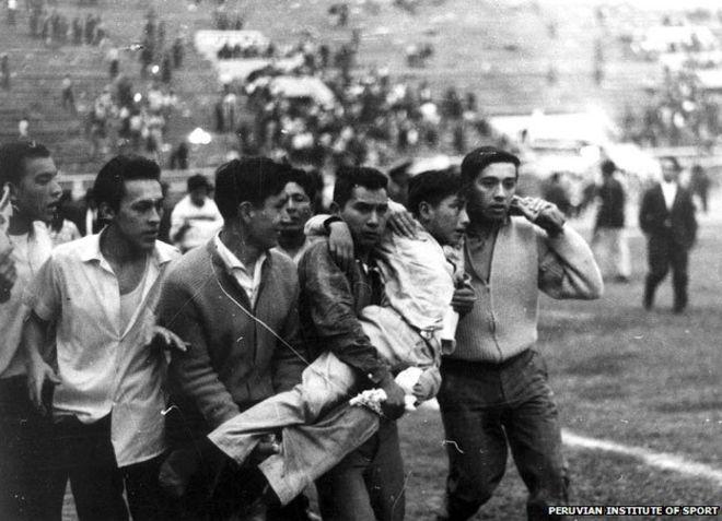 Futbalová tragédia v Lime