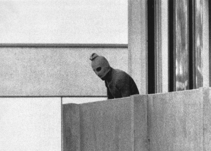 Jeden z teroristov na OH v Mníchove 1972.