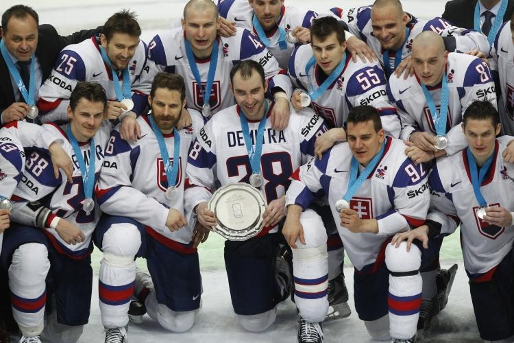 Striebro z roku 2012, posledný veľký úspech nášho hokeja.