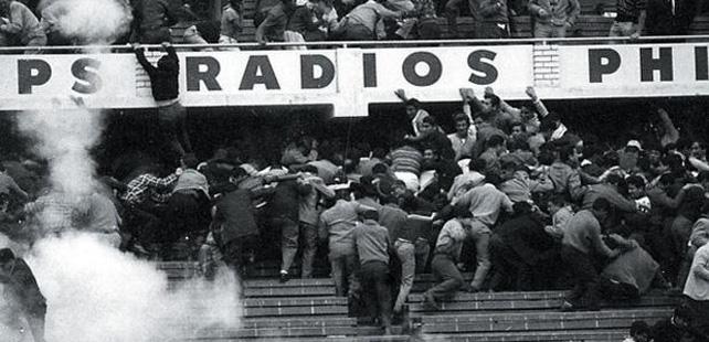 Futbalová tragédia v Lime.