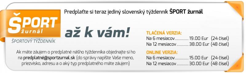 Predplatné ŠPORT žurnál
